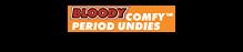 Bonds Bloody Comfy Period Undies Full Brief Heavy - Blush pink