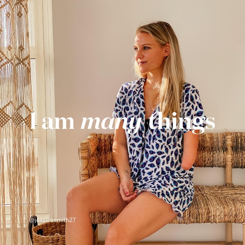 I am many things - Jess