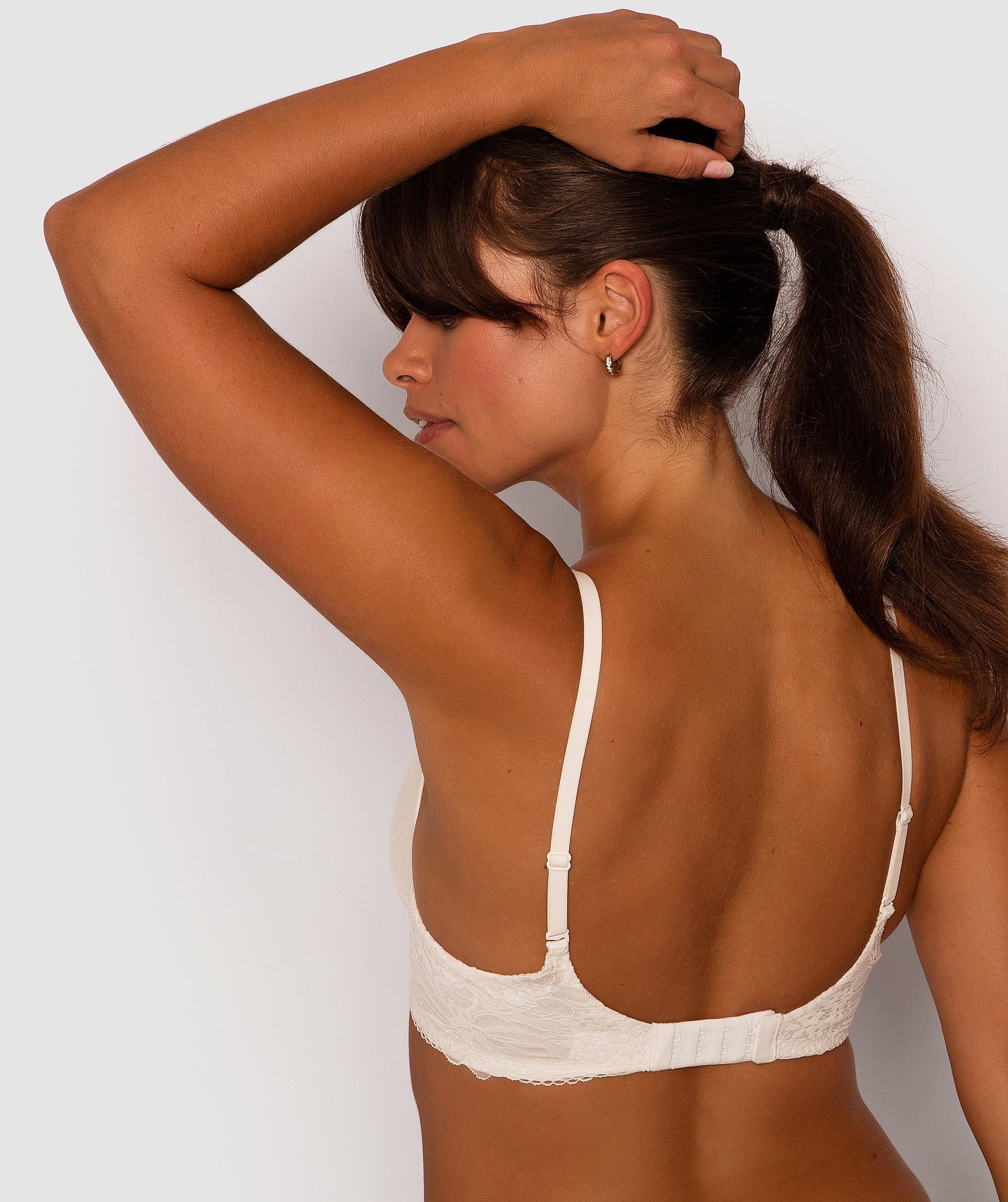 Body Bliss Lace Contour Bra - Ivory