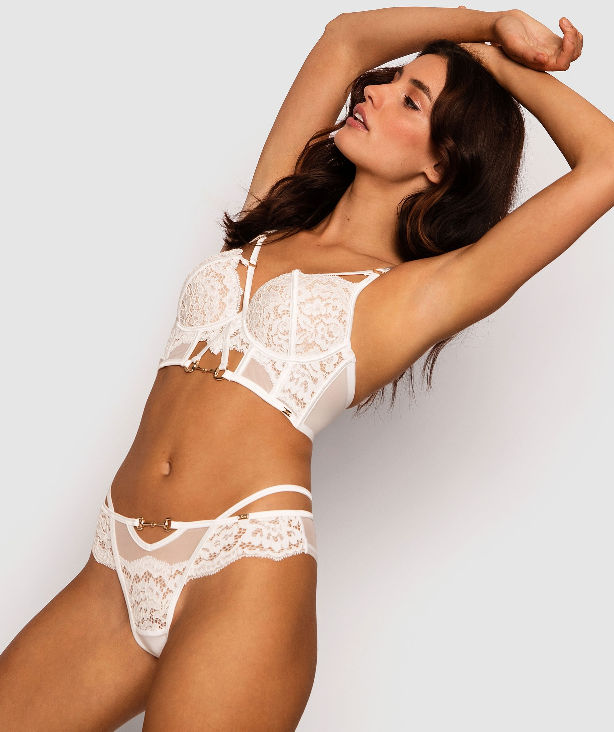 Vamp Muse Brazilian Knicker - White