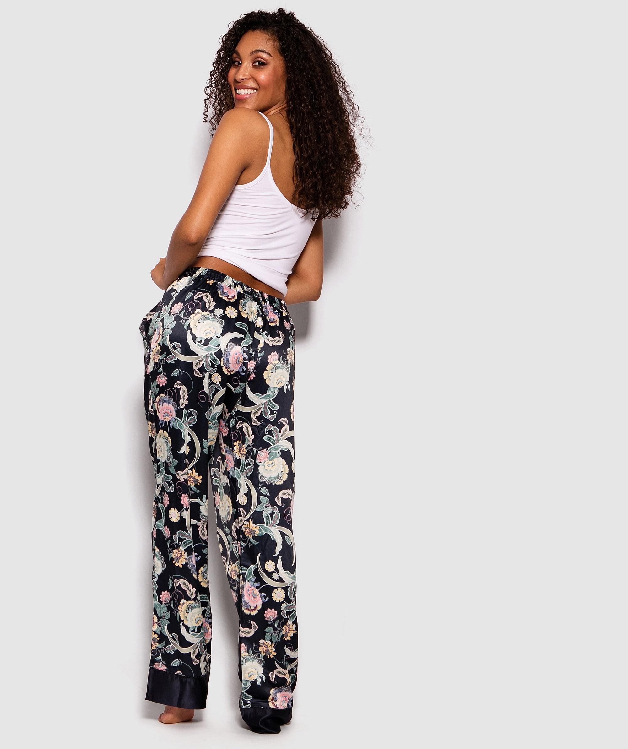 Batik Beauty Print Long Pants - Print Floral