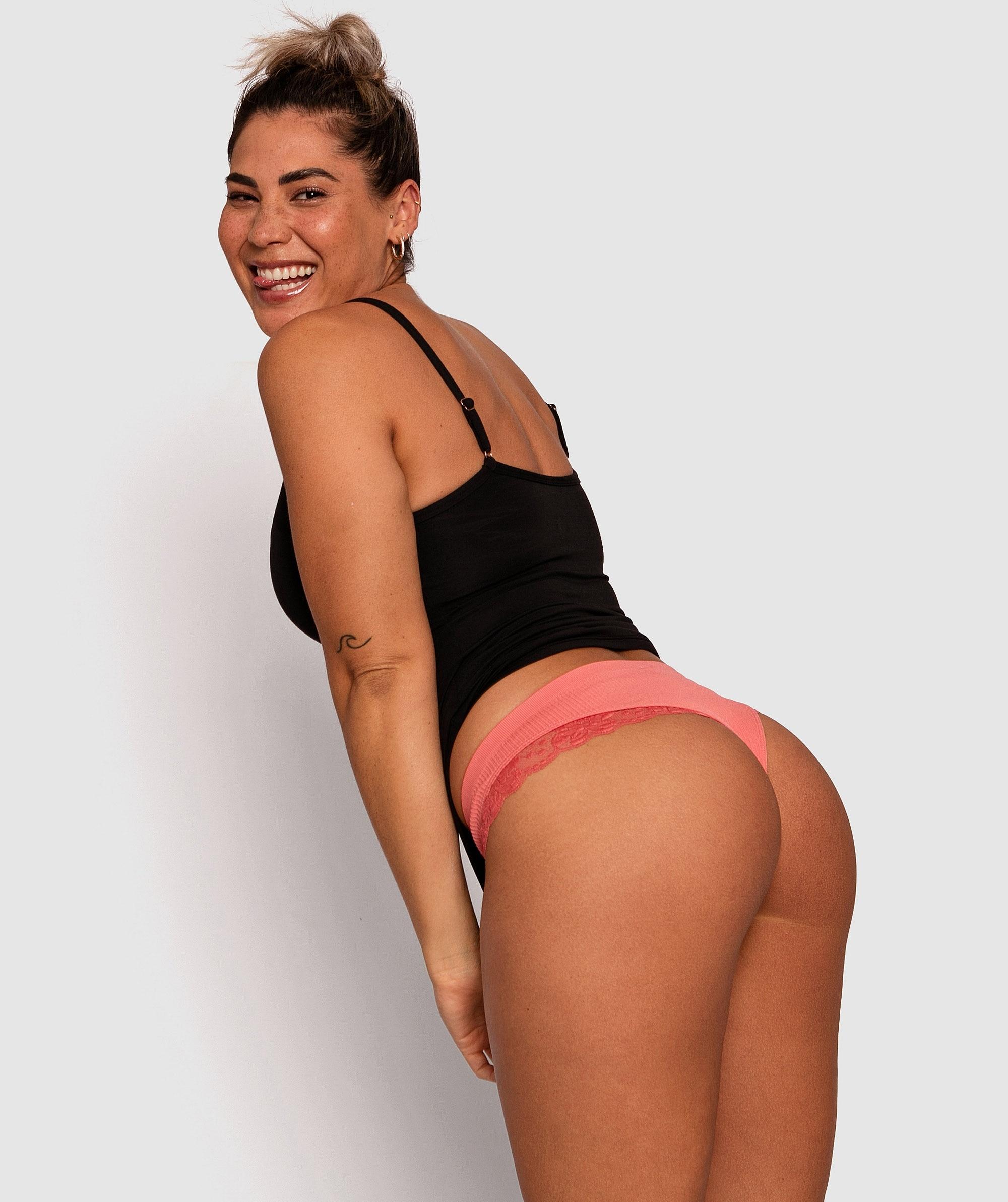 Angie Brazilian Knicker - Rust