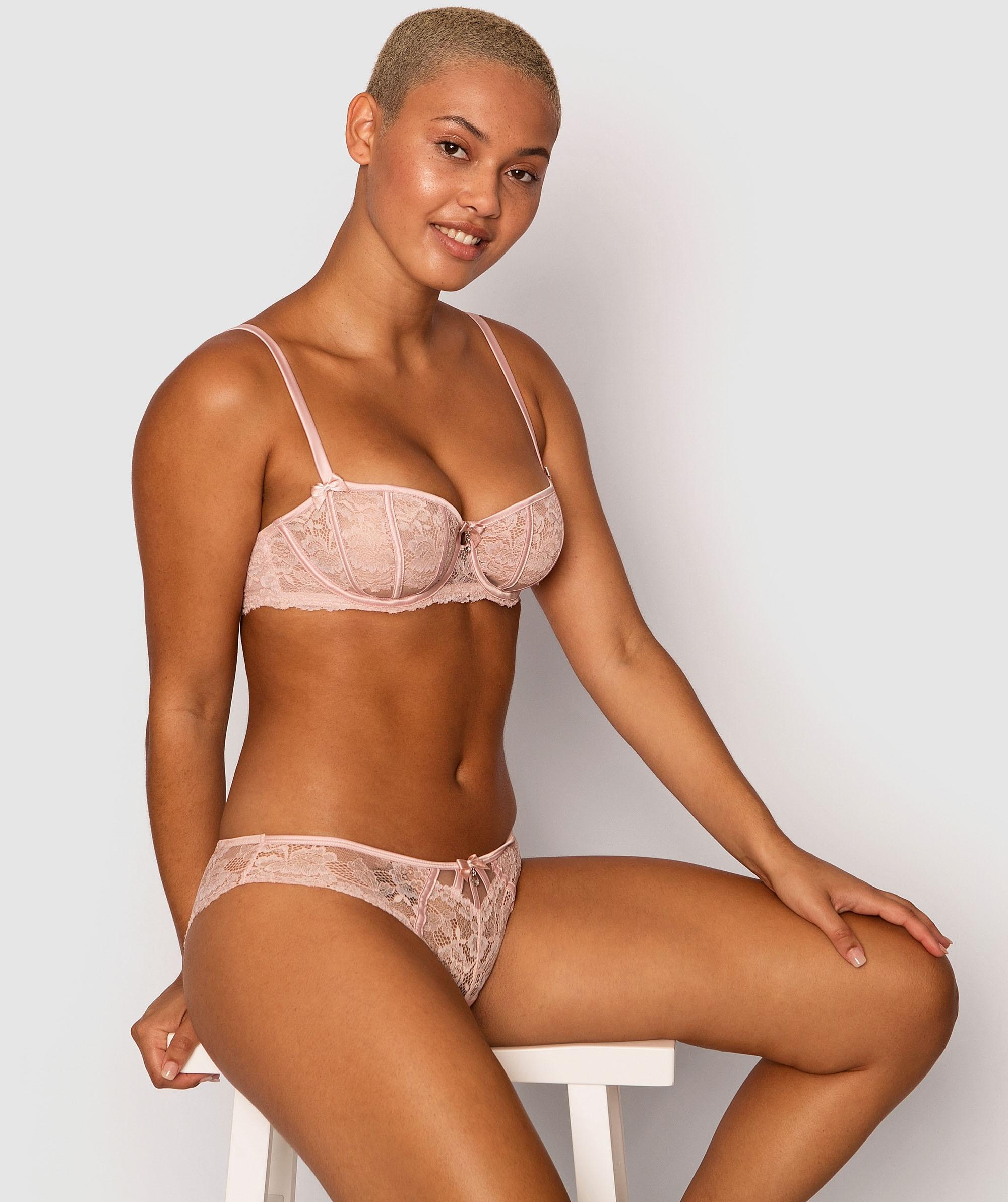 Bethany Brazilian Knicker - Nude
