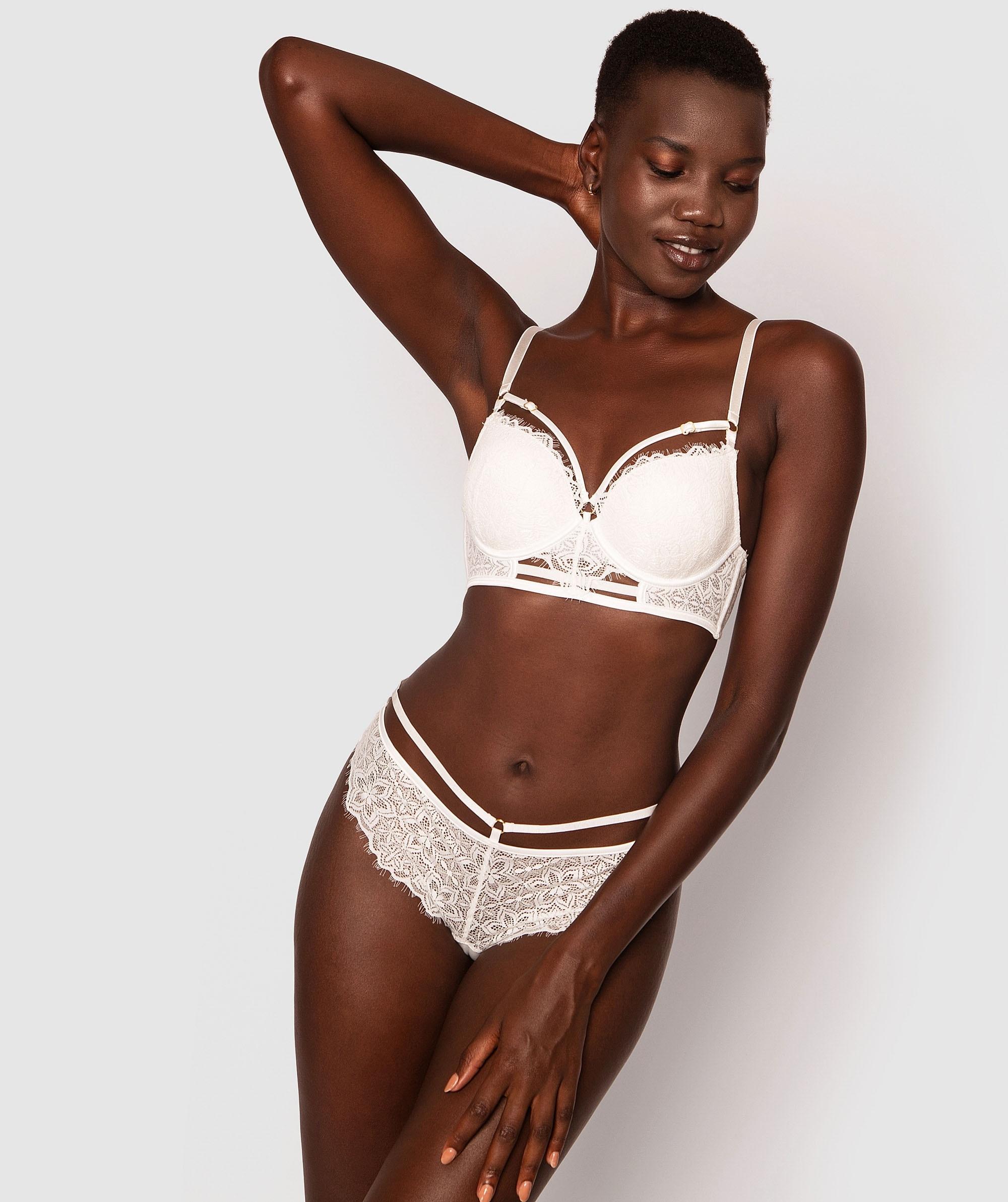 Antonia Brazilian Knicker - Ivory