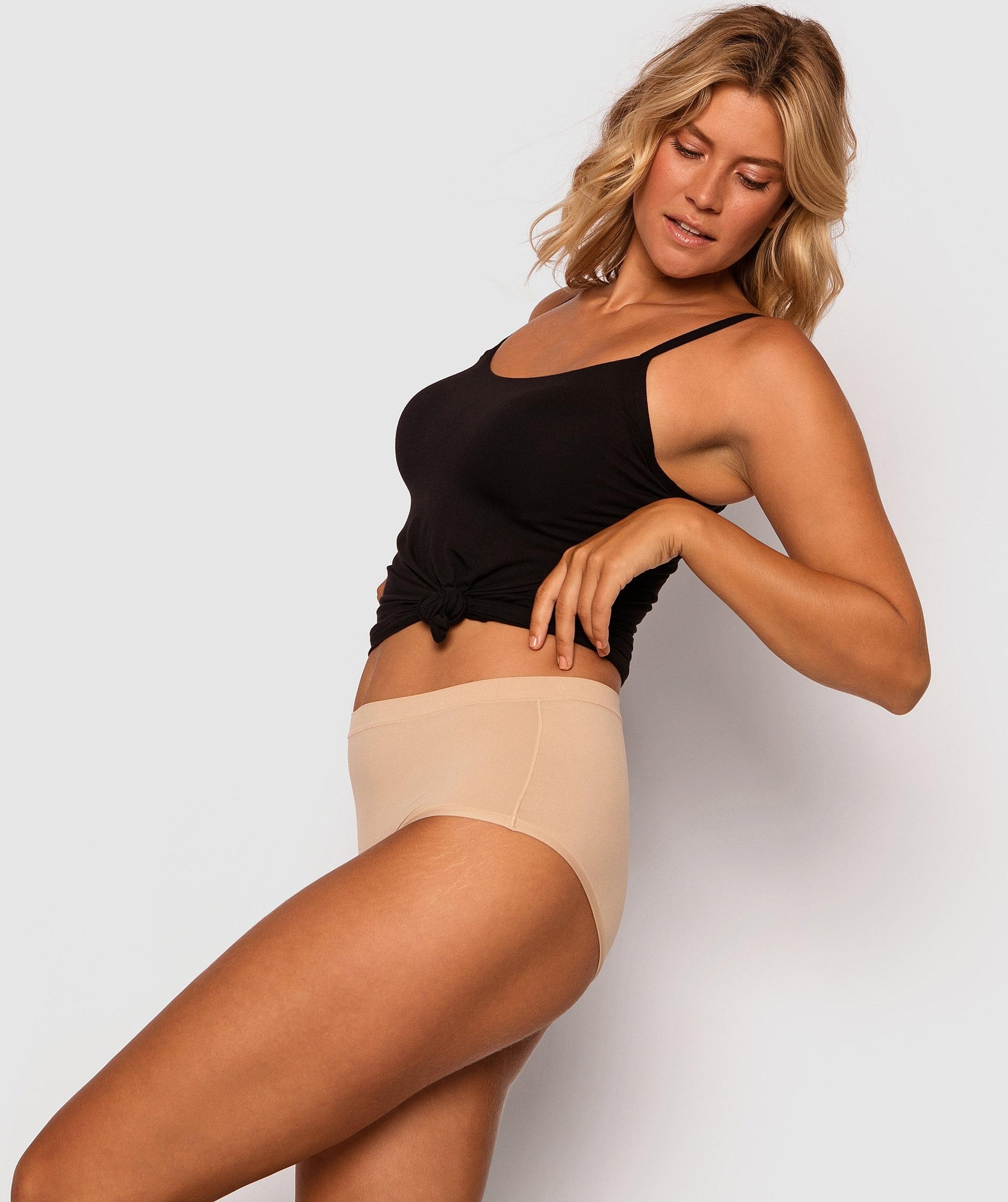 Body Bliss 2nd Gen Full Brief Knicker - Nude
