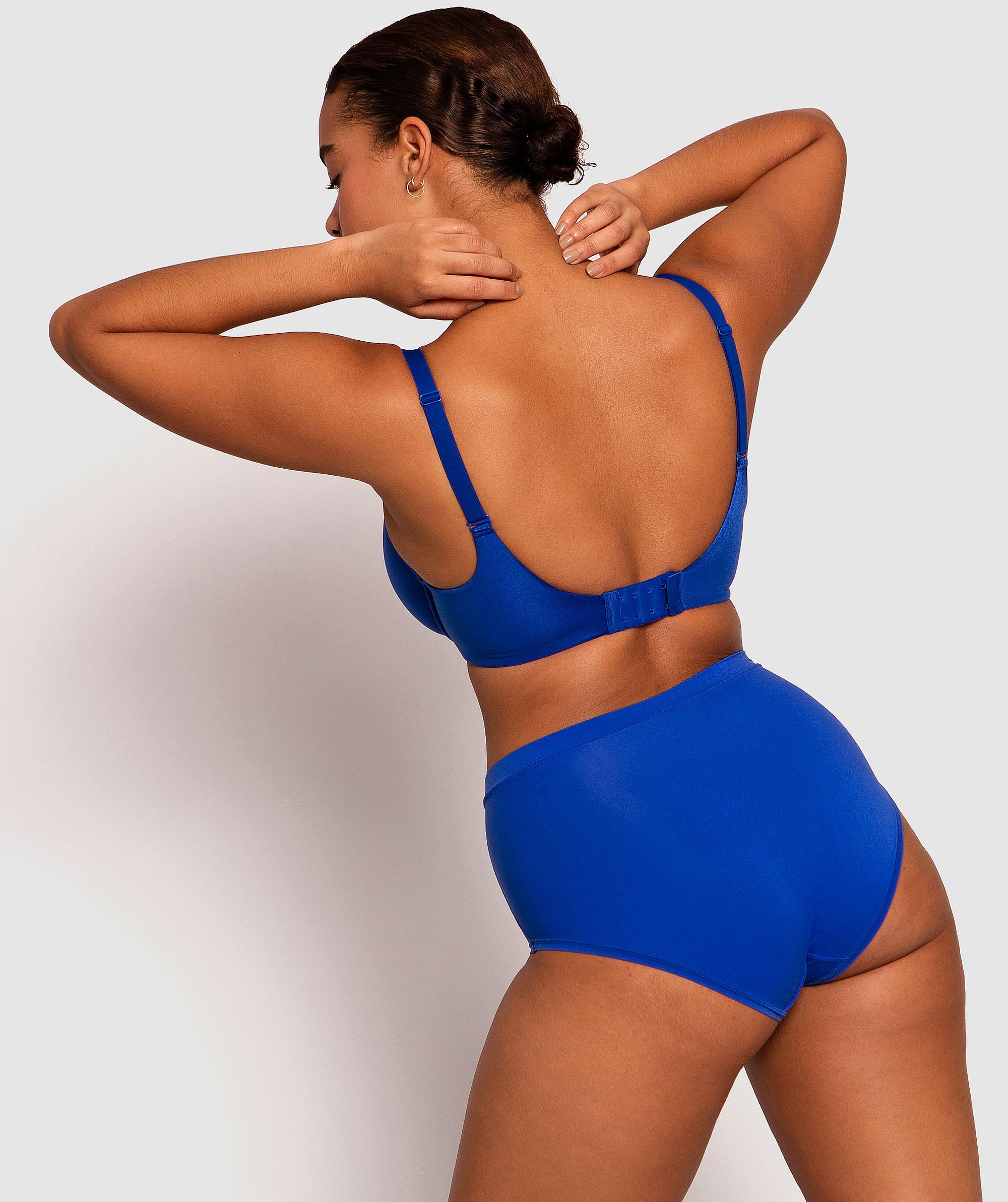 Body Bliss 2nd Gen Full Brief Panty - Dark Blue