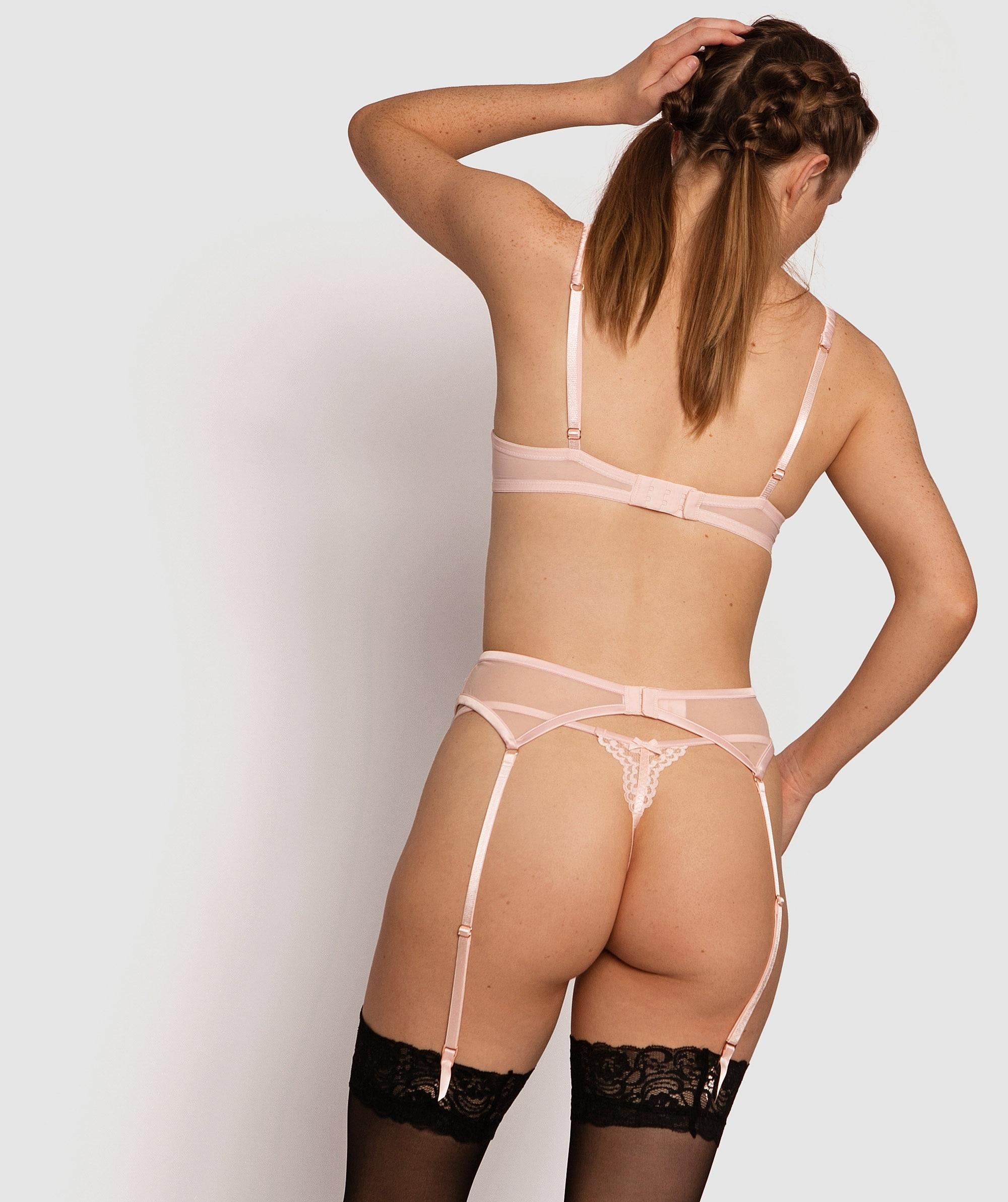Farran Suspender - Light Pink