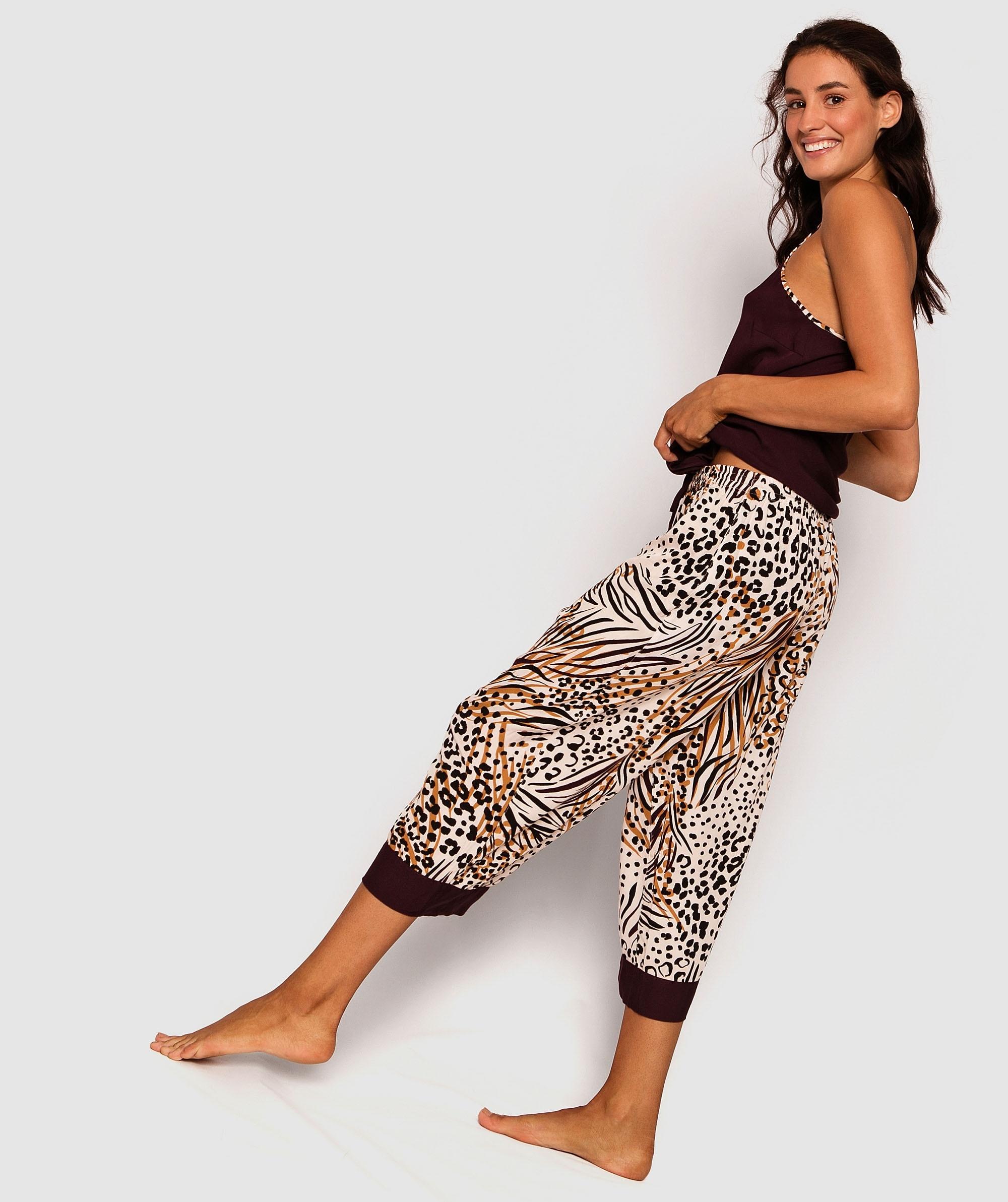 Savanna 3/4 Pants - Animal Print