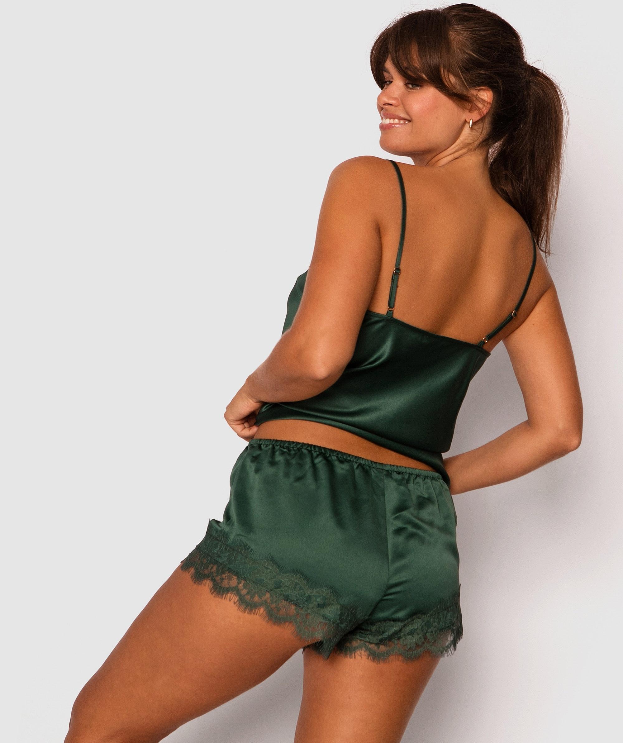 Tropic Glow Shorts - Green