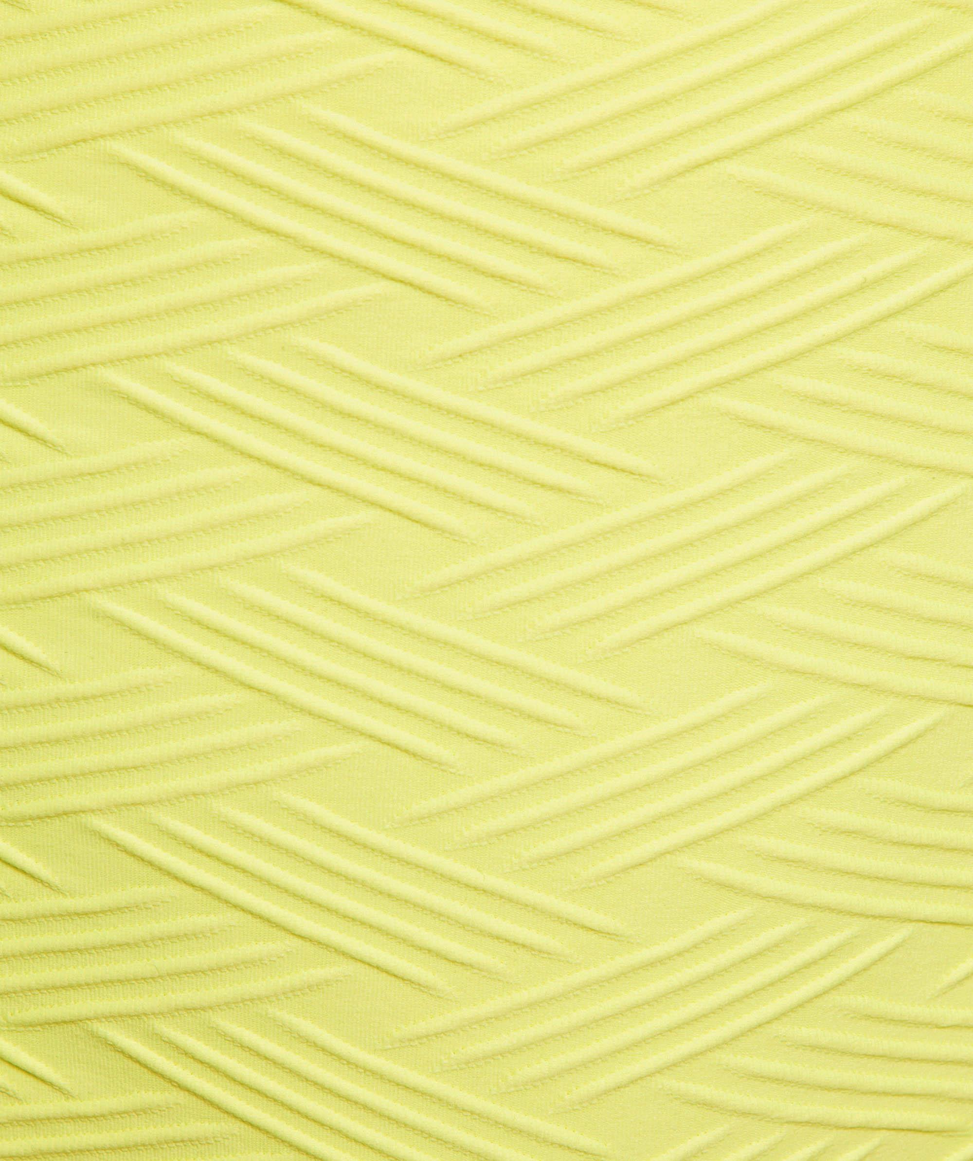 Vamp Vixen Swim Crop - Light Yellow