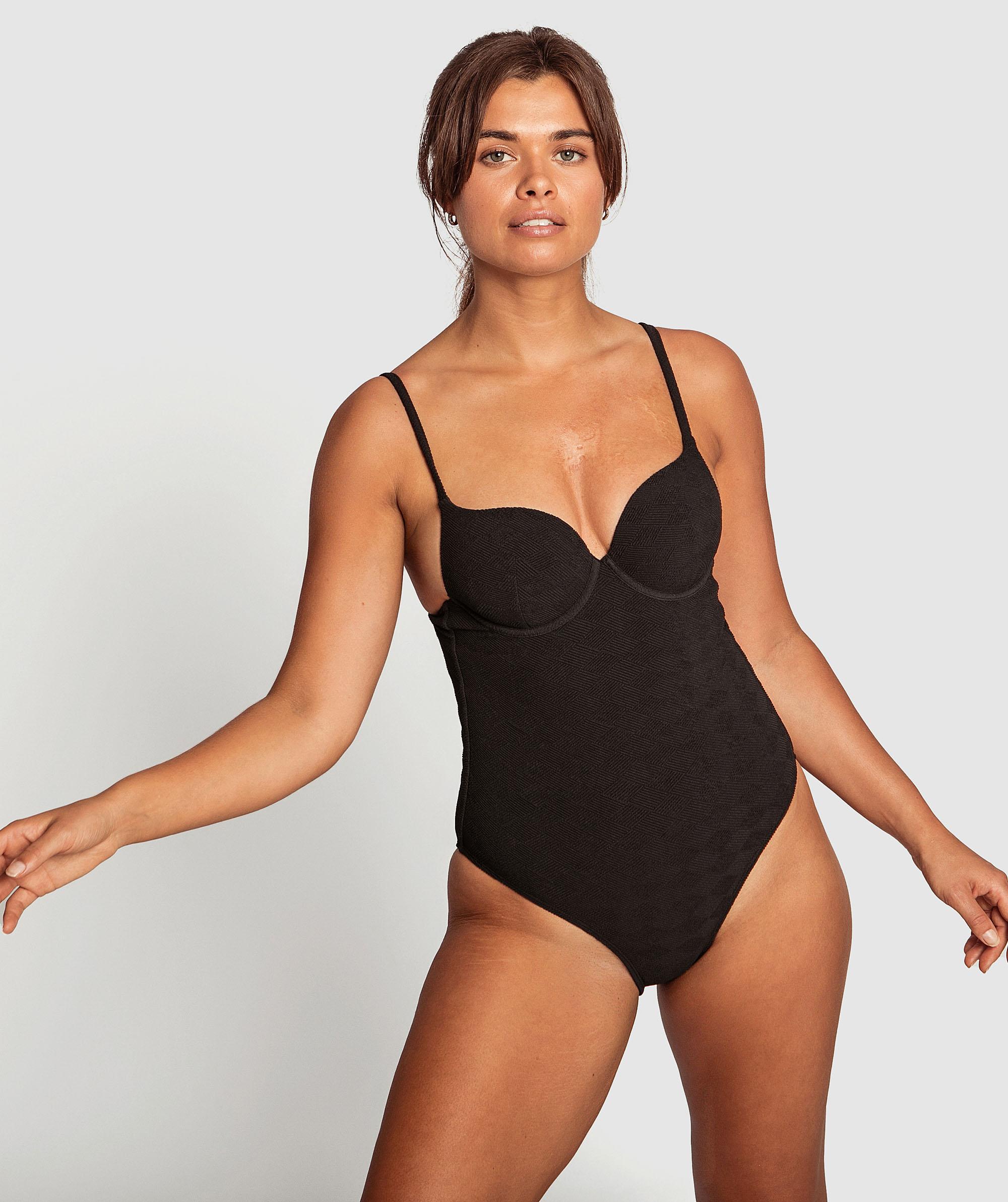 Body Bliss Swim One Piece - Black