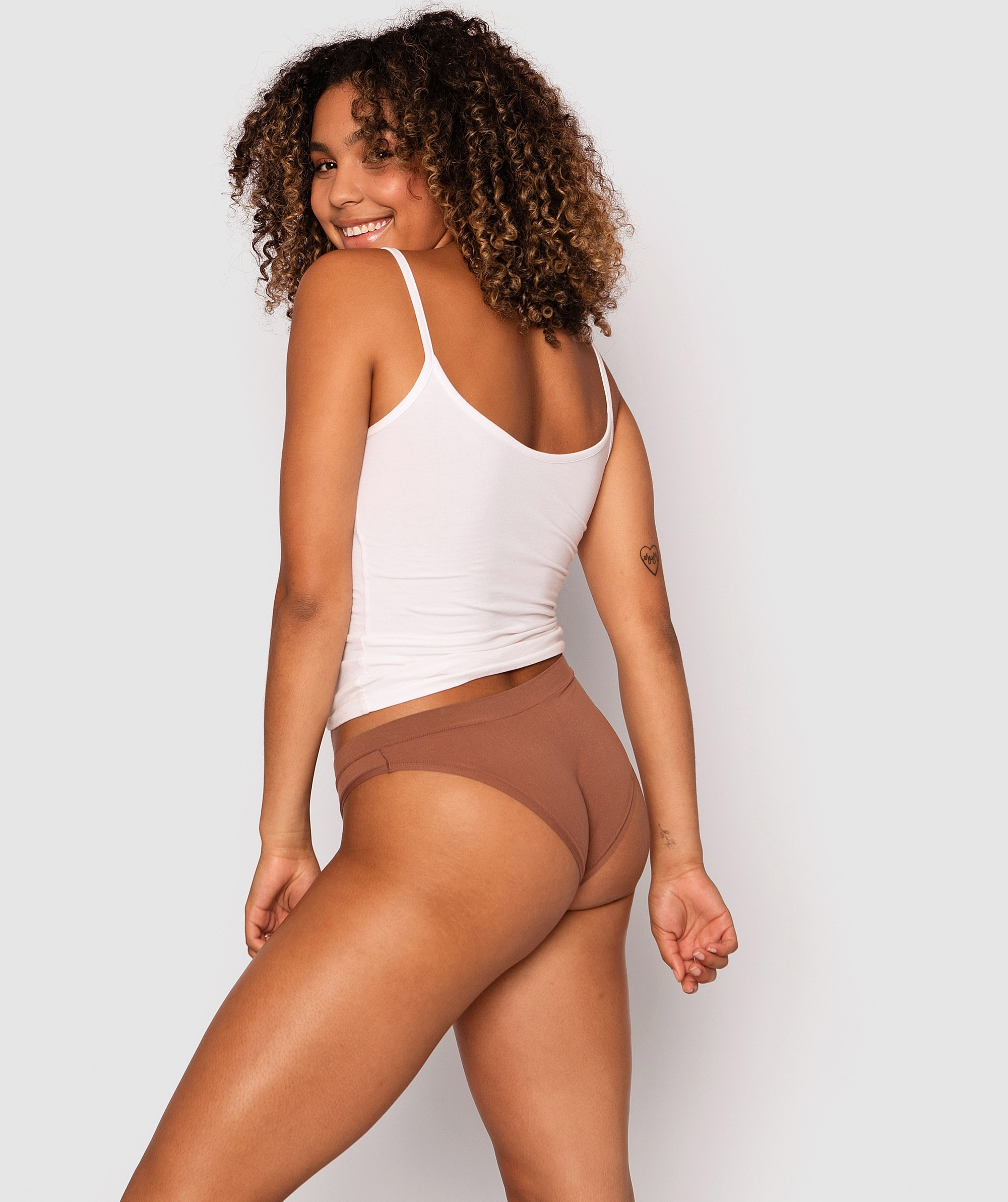 Body Bliss 2nd Gen Bikini Cut Knicker - Mocha