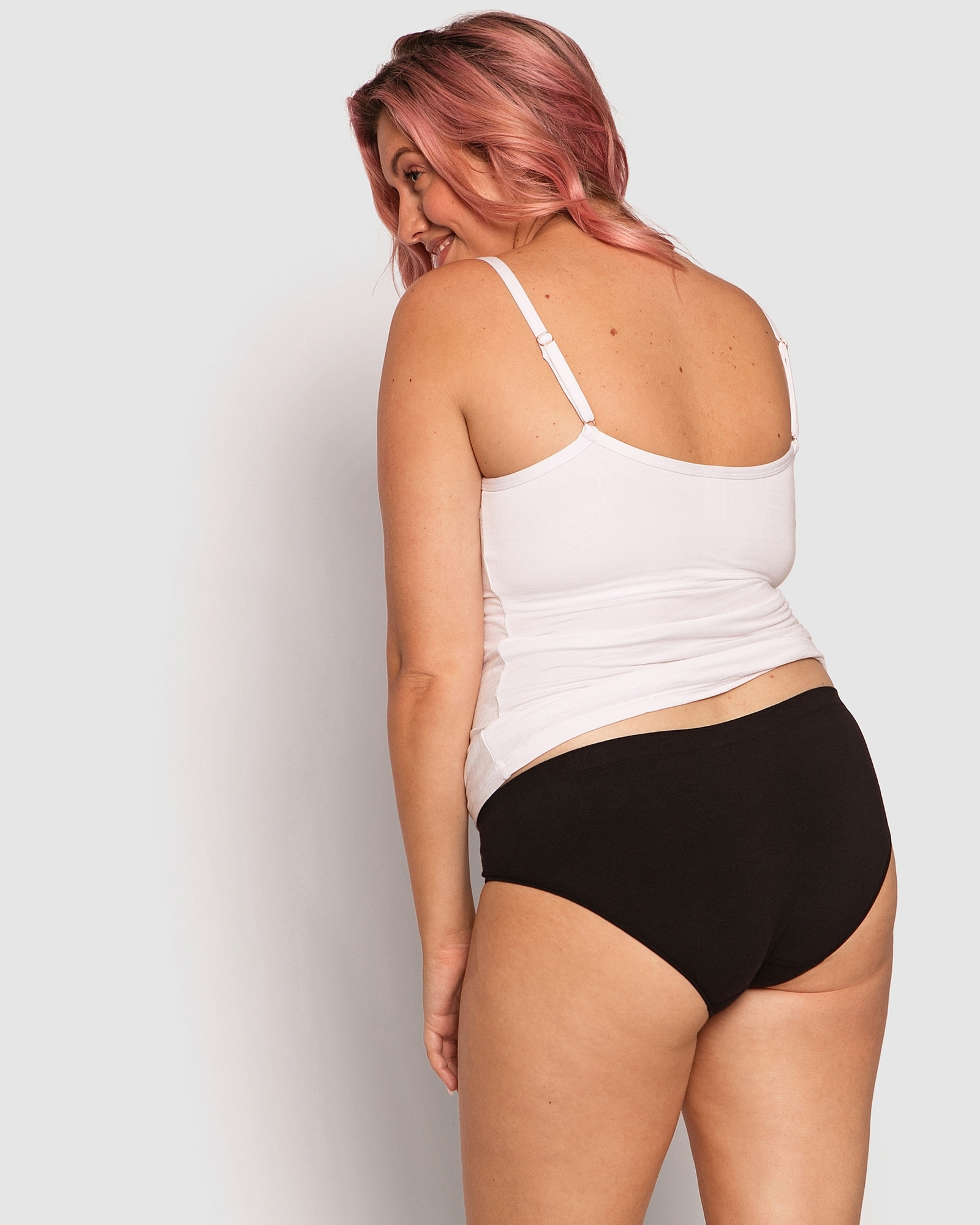 Imperial Basic Seamfree Bikini Knicker - Black
