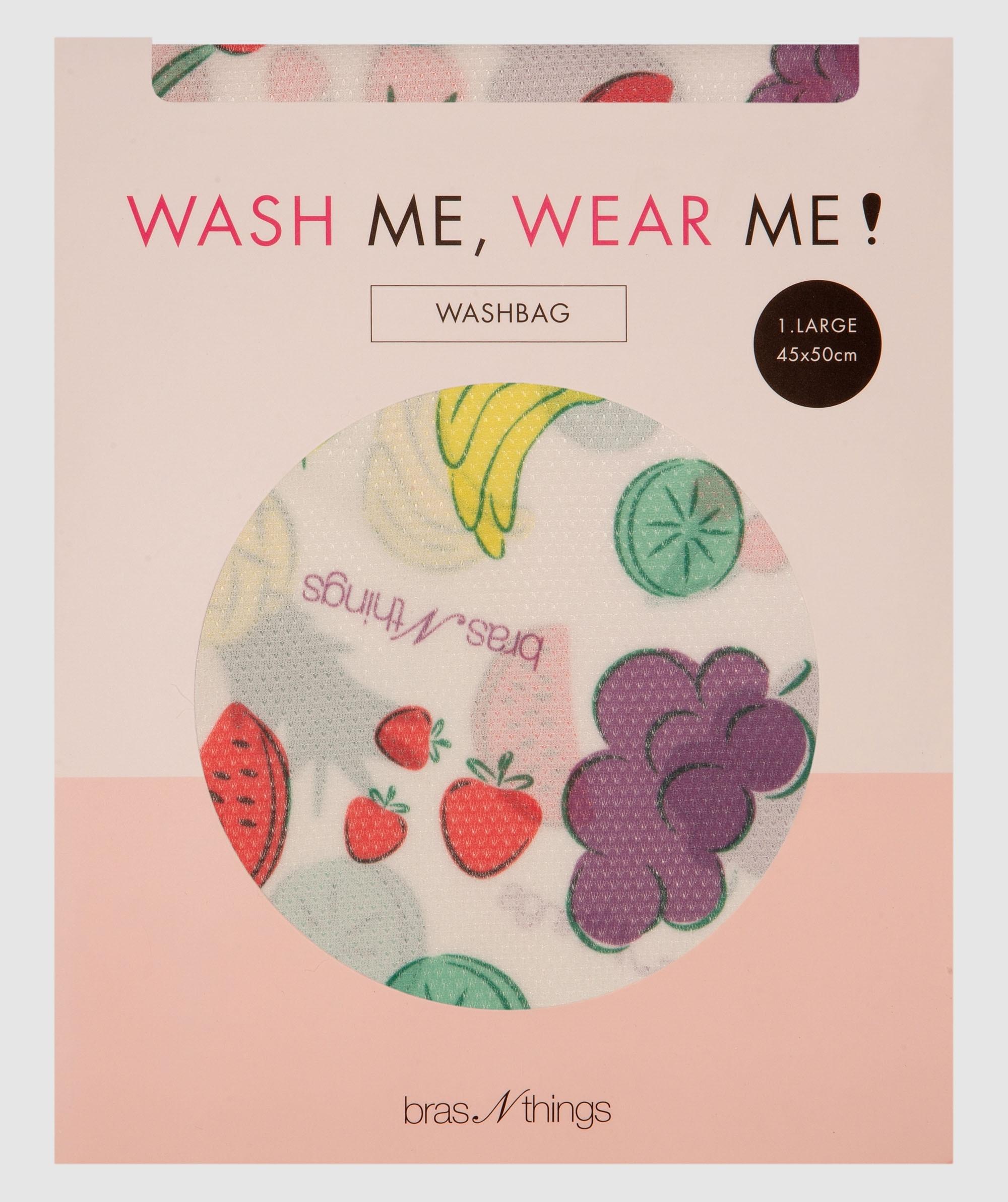 Tutti Fruitti Large Wash Bag - Green/Pink