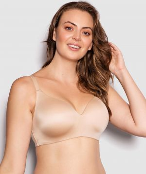 Body Bliss Wirefree Full Cup Bra - Nude