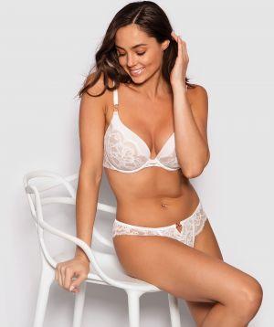 Fashion X Comfort Contour Bra - Ivory/Nude