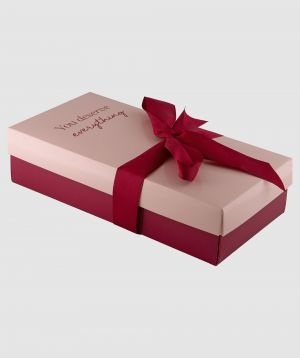 You Deserve Everything Small Gift Box - Pink/Nude