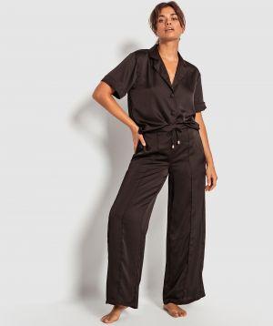 Lifestyle 3/4 Short Sleeve Shirt - Black