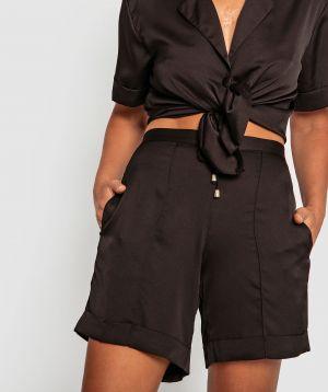 Lifestyle Longline Shorts - Black