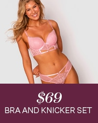 $69 Bra and Knicker Lingerie Set